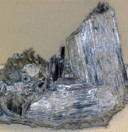 Bloc de fibre d'amiante